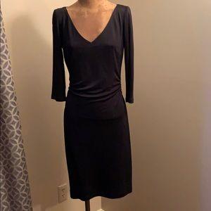 Classic David Meister Black Dress.